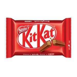 Chocolate Kitkat 4 Fingers ao Leite 41,5g | R$0,58