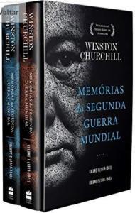 Box memórias da Segunda Guerra Mundial - Winston Churchill