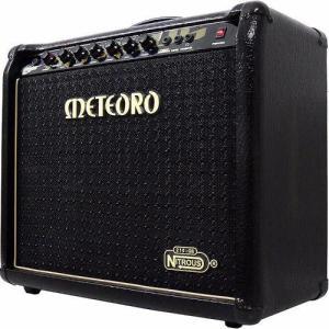 Amplificador Cubo Meteoro Nitrous Gs100 Com Pedal Gs 100 | R$990