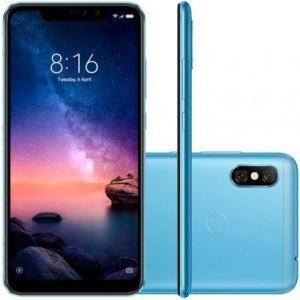 Smartphone Xiaomi Redmi Note 6 Pro 64GB Versão Global Desbloqueado Azul - R$1006