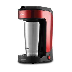 Cafeteira Philco Single Thermo Inox Red PCF21 | R$90