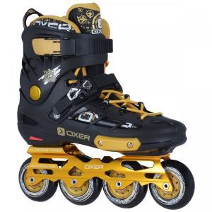 Patins Oxer Freestyle - In Line - Freestyle / Slalom - ABEC 9 - Base de Alumínio - R$300