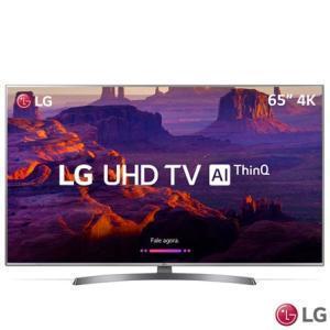 "Smart TV 4K LG LED 65"" 65UK7500 IPS HDR Ativo - R$ 4963"