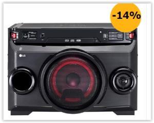 Mini System LG OM4560 Multi Bluetooth USB MP3 200W por R$ 569