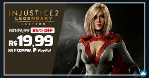 Injustice 2: Legendary Edition - R$20 com PayPal