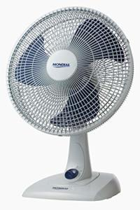 Ventilador Mondial Branco/Azul 110V - R$69