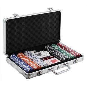 Maleta Poker 300 Fichas Western Games | R$180
