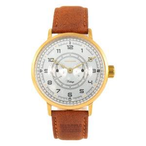 Relógio Masculino Vintage Por Marcelo Sommer Marrom | R$175
