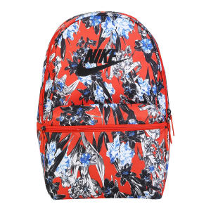 Mochila Nike Heritage - Laranja e Preto R$80