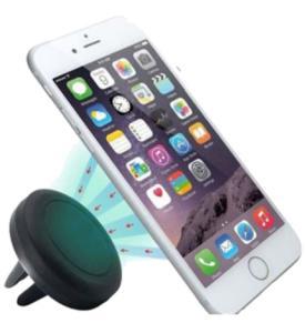 Suporte Veicular Magnético Preto Para Smartphone