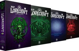 (Frete grátis) Box HP Lovecraft - Os Melhores Contos - 3 Volumes