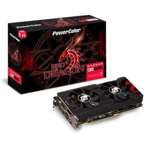 (Boleto) PLACA DE VIDEO POWERCOLOR RADEON RX 570 4GB GDDR5 RED DRAGON 256-BIT, AXRX 570