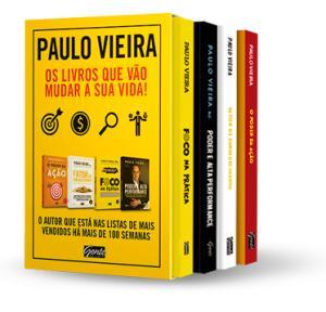 (Frete grátis) Box - Paulo Vieira - 4 Volumes