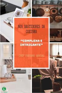 "eBook Kindle Nos bastidores da cozinha ""complexa e intrigante"" R$10"