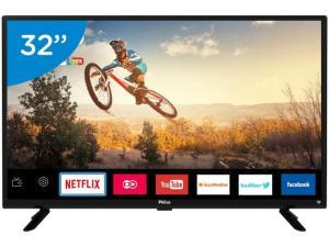 "Smart TV LED 32"" Philco PTV32G50SN - Conversor Digital Wi-Fi HDMI USB"