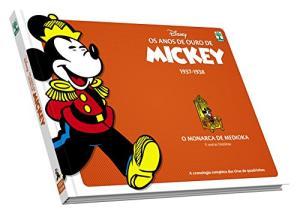 Livro: Os Anos de Ouro de Mickey. O Monarca de Medioka | R$21