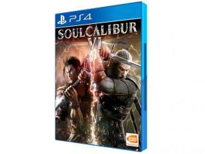 Soulcalibur VI para PS4 - Namco Bandai por R$ 80