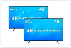 "Smart TV LED 49"" UHD 4K Samsung 49NU7100 + Smart TV LED 49"" UHD 4K Samsung 49NU7100"