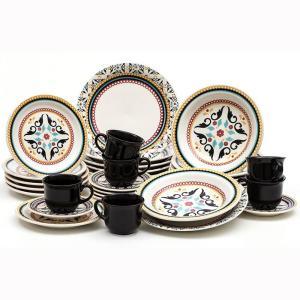 Conjunto de Jantar Luiza 30 Peças Oxford J164-6750 | R$187