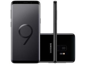 "Smartphone Samsung Galaxy S9 128GB Preto 4G - 4GB RAM Tela 5,8"" Câm. 12MP + Câm. Selfie 8MP R$2.557"
