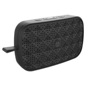 Caixa de som Bluetooth Motorola Sonic Play 150 - Preto | R$94