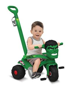 Velocípede Passeio e Pedal Hulk, Bandeirante | R$200