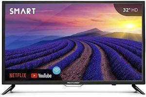 Smart TV -Tela 32 polegadas Multilaser - R$800
