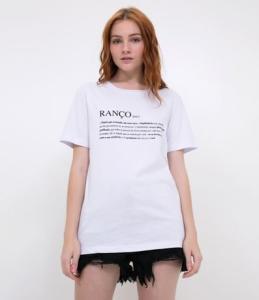 "Camiseta ""RANÇO"" - R$8,00"
