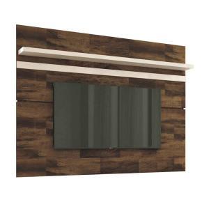 Painel para TV 70 Polegadas Venezza Deck e Off White 180 cm | R$248