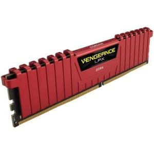 Memória RAM Corsair Vengeance LPX, 4GB, 2400MHz, DDR4, CL16, Vermelho