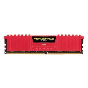 MEMORIA RAM CORSAIR VENGEANCE LPX VERMELHO 8GB (1X8) 2400MHZ DDR4