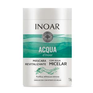 Máscara Capilar Inoar Acqua Água Micelar - 1000ml | R$18