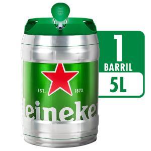 Cerveja HEINEKEN Barril 5 Litros por R$ 55