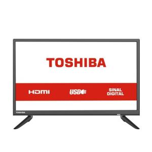 TV Led 24 Polegadas HD 24L1850 Semp Toshiba USB HDMI | R$599