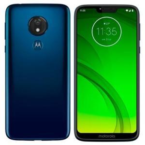 Smartphone Motorola Moto G7 Power, 32GB, 12MP, Tela 6.2´, Azul Navy - XT1955-1 por R$ 995