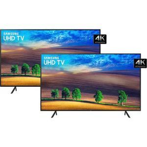2 Smart TV LED 49'' Samsung Ultra HD 4k 49NU7100 por R$ 3798,00 (10% de volte com AME)