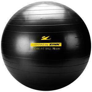 Bola de Pilates Suiça Ziva Anti-Estouro - 75cm   R$36