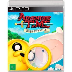 Game - Adventure Time: As Investigações de Finn e Jake - PS3 | R$30