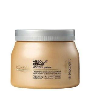 L'Oréal Professionnel Absolut Repair Cortex Lipidium Instant Reconstructing Masque - Máscara 500g - R$110 [R$66 com AME]