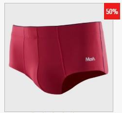 Cueca Mash Slip Microfibra - R$15