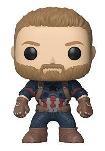 Funko Pop Marvel Infinity War Captain America | R$60