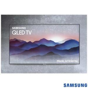 "Smart TV 4K Samsung Q7FN 2018 UHD 55"" com Modo ambiente, One Connect, PVR estendido e Wi-Fi - R$4499"