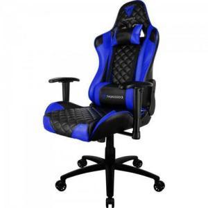 Cadeira Gamer Profissional Tgc12 Preta/azul Thunderx3 | R$899 (50% Cashback AME)