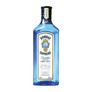 Gin Bombay Sapphire 750ml - R$80