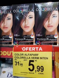 [Loja Física - Carrefour Torre Recife] Color Alfaparf - R$6