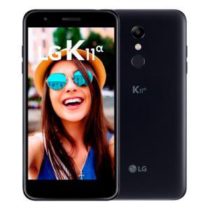 Smartphone LG K11 Alpha 16GB Preto LMX410BTW Tela 5,3 polegadas Dual Chip 4g | R$599
