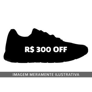 Tênis Mizuno Misterioso Masculino - Preto e Prata - OFFR$300