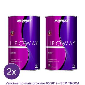 Kit 2x Lipoway Reduce: Vitamina E e ômegas 3, 6 e 9 Glamour 120 caps
