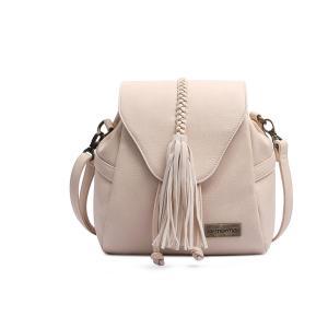 Bolsa Saco Com Cordão Mormaii Feminina - Off White