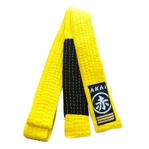 Faixa Jiu Jitsu Akai Infantil 4 cm - Amarelo